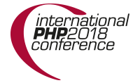 International PHP Conference 2018 - Fall Edition